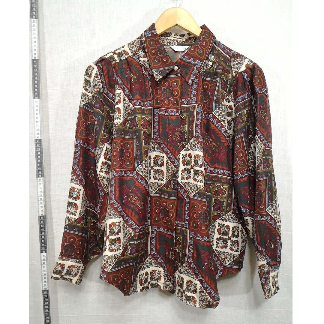 11118144-Rovetica antique long-sleeved shirt古著長袖襯衫