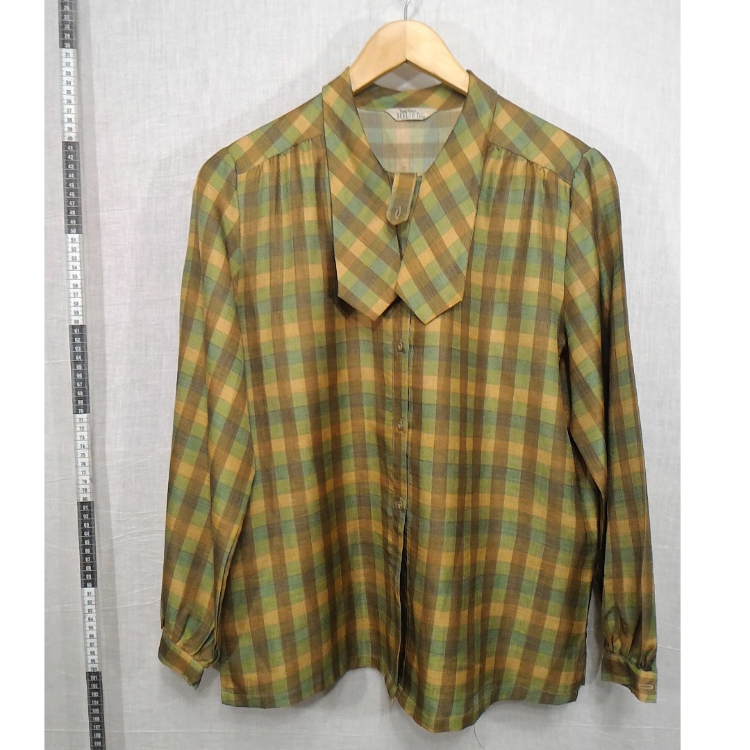 11118146-Joliet antique long-sleeved blouse古著長袖上衣