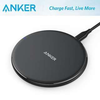 全新 Anker PowerPort Wireless 5 Pad Ultra Slim Charger 快充無線座