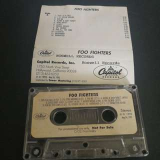 Foo Fighters Promo Cassette tape.