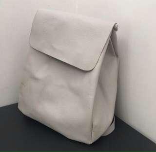 Zara minimalist bagpack