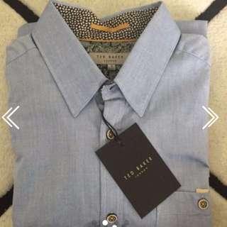 Ted Baker Blue Shirt RRP $1,300
