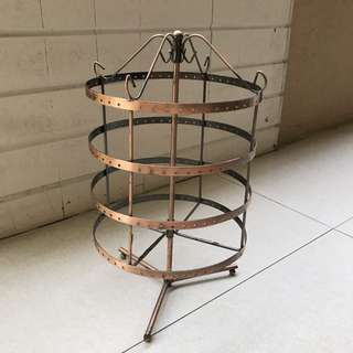 Earring display stand - 'spinable'