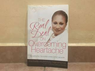 The real deal on overcoming heartache learning to live and love again Michelle McKinney Hammond