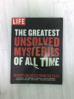 Life Greatest Mysteries of All Times Book