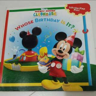 Mickey Mouse Clubhouse Lift The Flap