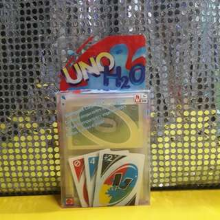 UNO CARDS H20 (ENGLISH AND SPANISH VERSION)