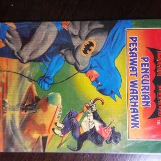 Komik Anak Batman Pencurian Pesawat Warhawk
