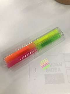 Muji 4 colours highlighter