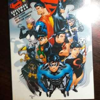 Komik Anak Berwarna Superman Batman