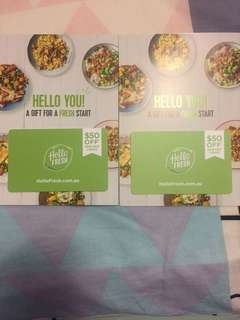Hello Fresh meal planning