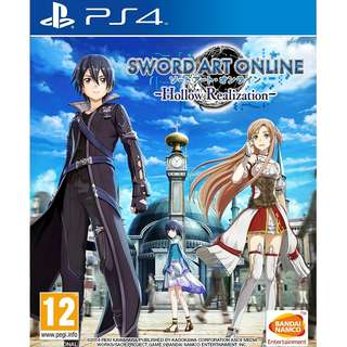 (Brand New Sealed) PS4 Game Sword Art Online Hollow Realization