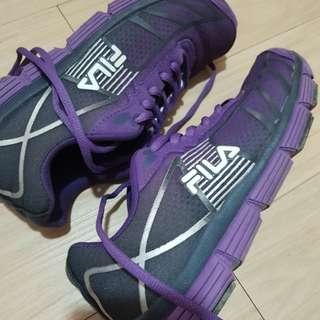 Fila Purple Running Sneakers repriced