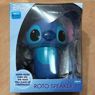[全新New] Disney 3D Roto Speaker (Stitch) 迪士尼 史迪仔 發光喇叭