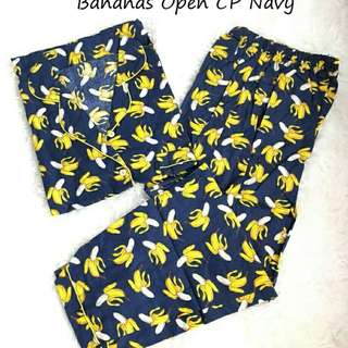 BANANAS OPEN PAJAMAS CP