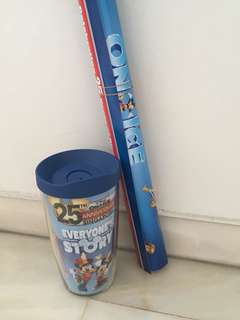 Disney on ice 2018 tumbler and poster