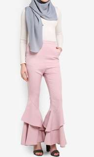 Zalia Flared Layered Pants