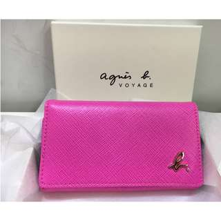 Brand New Agnes B key holder with box