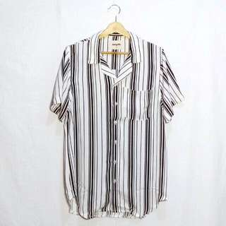 Smyth B&W Stripe Shirt