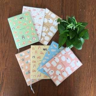 Simple Cute A5 Notebooks