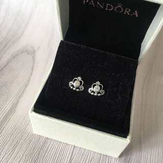 [Pandora] Tiara Earrings 後冠耳環