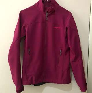 Patagonia shell jacket 紫色XS