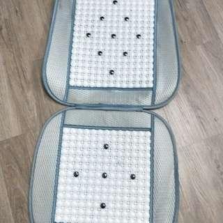 Beads car seat mat