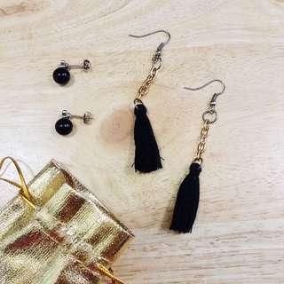 Free SF Earrings Bundle (Tassle and Pearl)