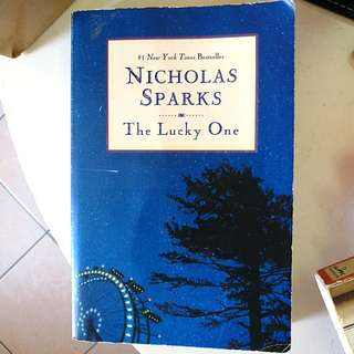 Nicholas Sparks 'THE LUCKY ONE'