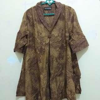 Tunik top blouse batik sematawayang
