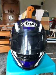 Original Arai Full Face Helmet