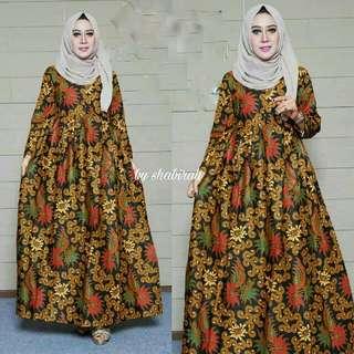 dress batik sekar