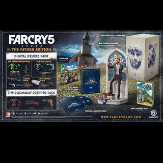 Far Cry 5: The Father Collector's Edition Preorder