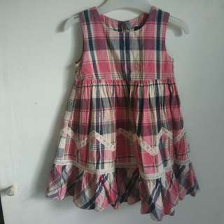 Sold as set: baby girl dresses for 1 year old