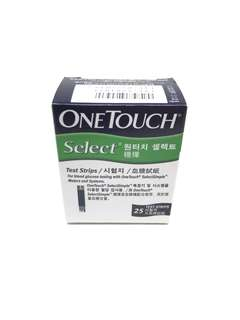 One Touch Select Test Strips 25's