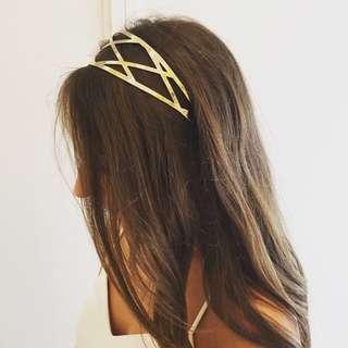 KOOKAI Gold Headband SOLD OUT