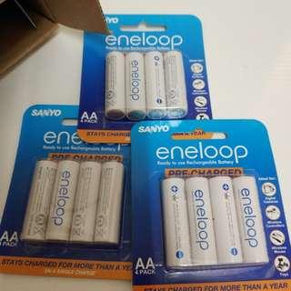 Sanyo eneloop AA 充電池