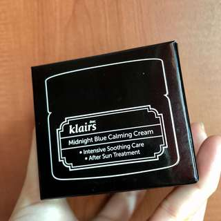 klairs midnight blue soothing calming cream