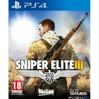 (Brand New Sealed) PS4 Game Sniper Elite 3 Ultimate Edition
