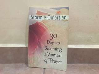 30 days to becoming a woman or prayer