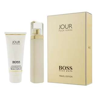 Hugo Boss Jour Travel Edition 2 Pcs Gift Set for Women (75ml EDP+100ml Body Lotion)