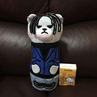 全新 日本直送 KRUNK x BIGBANG 太陽 冷熱保濕水樽袋