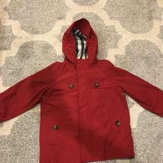 Burberry Children Rain Jacket Size 3