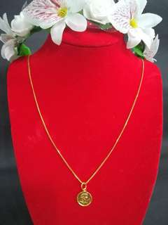 Necklace 916 gold