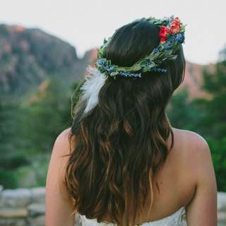 Customized Flower Crowns