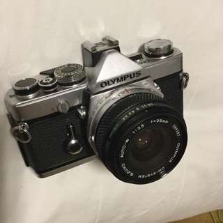Olympus OM-1 camera and lenses