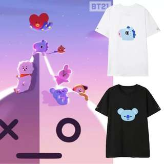 BTS BT21 T SHIRTS
