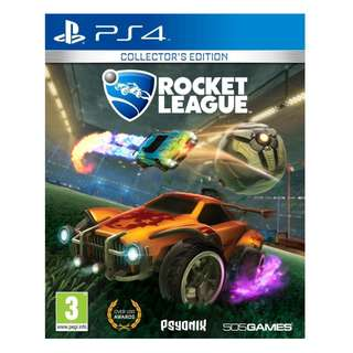 (Brand New Sealed) PS4 Game Rocket League