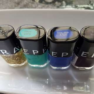 Sephora nail polish new and not used /5 dollars each