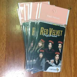 [IN STOCK] RED VELVET OFFICIAL GOODS - CASHBEE TRANSPORTATION CARD - GROUP